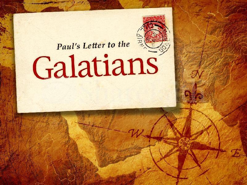Book of Galatians Bible Study - Galatians 6